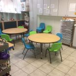 Preschool facility - lunch area