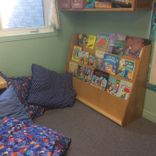 Preschool facility - reading corner